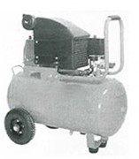 Compresseur d'air monobloc - Manomètre 8 bars
