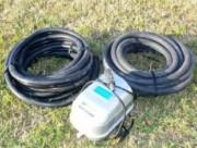 Compresseur d'air pour plan eau - Compresseur d'air délivrant : 40 L/Minute