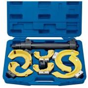 Compresseur de ressort d'amortisseur - Mâchoires interchangeables  -  Livré dans son coffret
