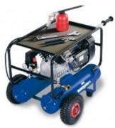Compresseur mobile à moteur thermique - Pour sablage sur chantier