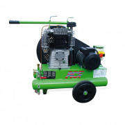 Compresseur semi-mobile électrique - Nombre de cylindres : 2