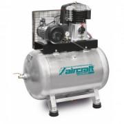 Compresseur stationnaire à cuve horizontale - Puissance moteur : 5,5 kW / 400 V