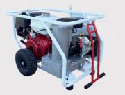 Compresseurs d'air à vis - Compresseurs d'air thermique semi-mobiles à vis