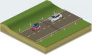 Comptage routier automatique - Etude temporaire du trafic routier et remise de rapport de comptage