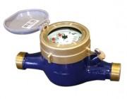 Compteur d'eau à jet multiple conduite horizontale - Débit nominal Qn (m³/h): de 1,5 à 15