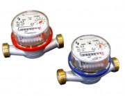 Compteur d'eau à jet unique - Débit nominal Qn (m³/h): 1,5 - 2,5