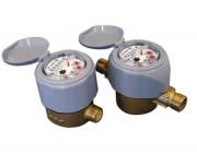 Compteur d'eau volumétrique à piston rotatif - Débit nominal Qn (m³/h): de 1 à 10