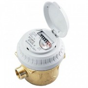 Compteur d'eau volumétrique occasion - Débit nominal : 2,5 m3/h - Débit maxi : 3,125 m3/h