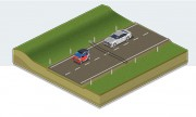 Compteur trafic routier - Sens de circulation   -  Débit VL/PL