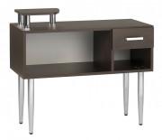 Comptoir accueil à tiroirs et casier - Comptoir acceuil magasin salon avec tirors et casier