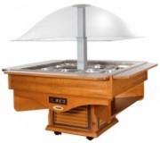 Comptoir buffet froid - Température de fonctionnement: +3°C/+10°C