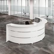 Comptoir d'accueil mélaminé - Disponible en 4 couleurs  -  Fabrication européenne