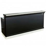 Comptoir de bar version réfrigérée - Longueur : 970 à 2250 mm - +3° +6°C