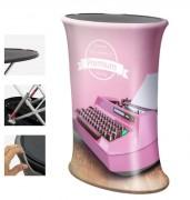 Comptoir de stand hydraulique - Dimensions : 700 x 930 mm