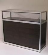 Comptoir meuble d'exposition pour commerce - DImensions (HxLxP) cm :100 x 103 x 43 - 100 x125 x 43