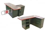 Comptoir meuble de caisse - Pour magasin de jardinerie