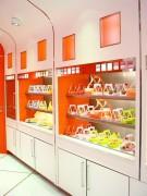 Comptoir vitrine chocolat - Régulation hygrométrique