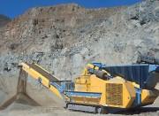 Concasseur de pierre à axe vertical - Rotor fermé 6 battoirs - Pour applications tertiaires ou quaternaires