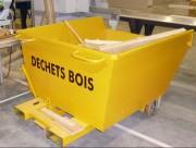 Conception Benne de chantier renforcée - Tri sélectif des déchets industriels