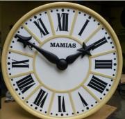 Concéption horloge d'édifice - Cadrans et aiguilles