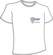 Conception T- shirt publicitaire Marquage par sérigraphie - Marquage par sérigraphie, quadrichromie ou couleurs indexées