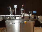 Conditionneuse moyenne et petite série semi- automatique - Machine de conditionnement moyenne et petite  série