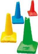 Cône plastique de sport - Hauteurs disponibles en cm : 30 - 45 - 60 - 75