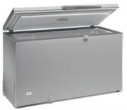 Congélateur coffre à double thermostat - Aspect inox - Capacité (L) : De 210 à 700