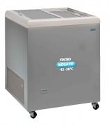Congélateur inox à couvercle coulissant opaque - Froid négatif : -12° -26°C  - Capacité : de 222 à 470 L