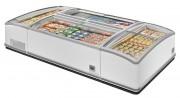 Congélateur présentoir vitré - Froid positif et négatif : - 10 / - 25 °C et - 1 / + 5 °C
