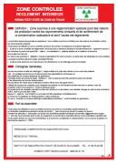 Consigne radiologie pour hôpitaux - Dimensions : 250 x 350mm