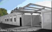 Constructeur centre aéré - Bâtiment temporaire