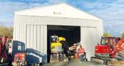Construction bâtiment modulable par travée de 5 mètres - Longueur : modulable par travée de 5 mètres