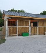 Construction de boxe pour chevaux - Boxe personnalisé