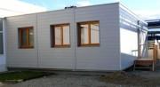 Construction de chantier modulaire - Isolation thermique et phonique renforcée