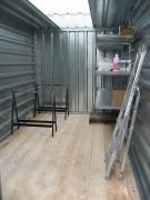 Container abris - Renforts extérieurs et montants supplémentaires