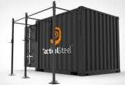 Container crossfit Rig pour forces armées en OPEX - Matériel entraînement musculation tout type de terrain