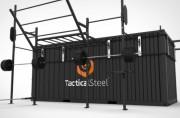 Container crossfit transportable pour forces armées OPEX - Rig crossfit extérieur + box de rangement 20'