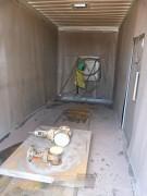 Container de grenaillage sablage aerogommage - Cabine de grenaillage - sablage - aerogommage