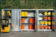 Container de stockage produit chimique - Nombreuses dimensions disponibles