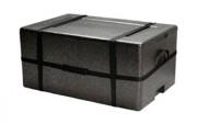 Container isotherme - Peut contenir des gastronorm de 1/2 en acier inox polycarbonate ou polypropylène