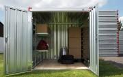 Container porte double en façade - Longueurs : 2.25 - 3 - 4 - 5 - 6 m