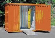 Container pour bouteilles de gaz avec plancher - Charge admissible : 500 kg