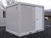 Container shelter monobloc - Gamme de 3 à 6 m, nombreuses options possibles