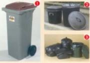 Containers poubelles - Containers, poubelles tougoum, sacs plastiques et doublures containers