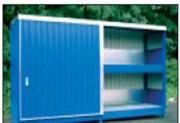 Conteneur à casier pour fût - Charge admissible max.par casier : 2400 Kg