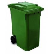 Conteneur à déchets 2 roues en Plastique - Volume : 120 L / 240 L / 360 L - 6 coloris disponibles