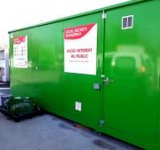 Conteneur à déchets DMS - Volume de stockage 5m³, 15m³, 21m³ et 31m³