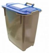 Conteneur à déchets industriel - Durable et mobile