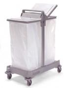 Conteneur à déchets mobile métallique époxy - Tri-Selectif, SAX 2402, 758491